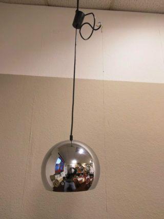 Kugellampe Deckenlampe Lampe Chrom Chrome Space Age R.  Essig Design 70s 70er Bild
