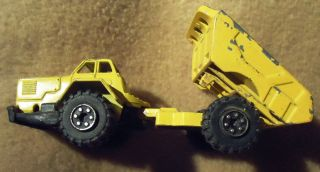 Tonka 03393 Dumper Truck 100 Mm Lang Stabil Made In Japan Bild