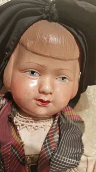 Alte Puppe Vor 1945 Aus France Bild
