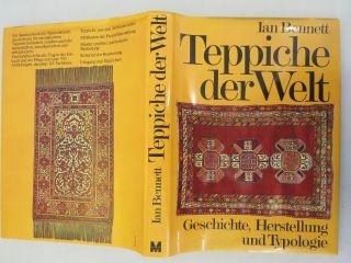 Buch Teppiche Der Welt Von Ian Bennett Mosaik Geschichte Herstellung Typologie Bild