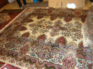 Sehr Schöner,  Alter,  Großer Teppich,  In 246 X 340 Cm,  Helle Farben Bild