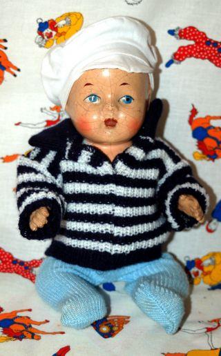 Süsse Alte Babypuppe - Puppe Aus Masse - Von Reliable Canada - Bild