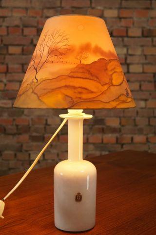 60er Kastrup Stehlampe Gulvase Leuchte Lampe Lamp Vintage Danish Otto Brauer Bild