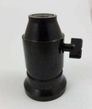 Lampenfassung Drehschalter Bakelit F.  Bauhaus Schreibtischlampe Lamp Socket Bild