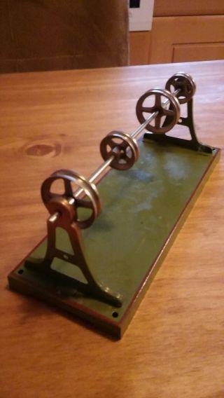 Antriebsmodell Für Dampfmaschine Märklin,  Antike Transmission Bild