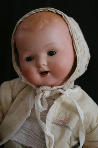 Porzellan - Baby Von Karl Baumann Gemarkt 241 Ca.  36 Cm Rar Bild