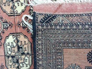 Perserteppich Turkmene Auf Seide Antik,  Ca.  123x190cm,  Handgknüpft Bild