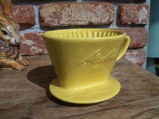 Melitta Kaffeefilter 101,  3 - Loch,  Dottergelb,  Sehr Ordentlicher Bild