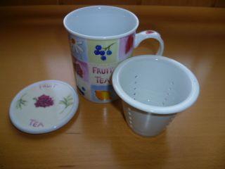Tee Tasse/becher Mit Einsatz Bild