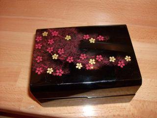 Zohiko Lack Schatulle Dose Japan China Lacquer Box Lacquerware Luxus Bild