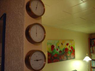 Barometer,  Hygrometer,  Thermometer,  Messing,  Sehr Schön,  Aus Nachlass Bild