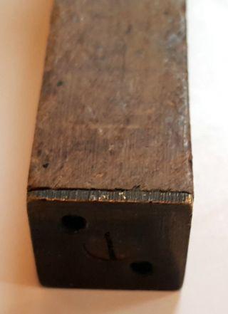Altes Werkzeug Antik Meßgerät Maß Rarität Ofensetzer Kaminbauer Ofenbauer Bild