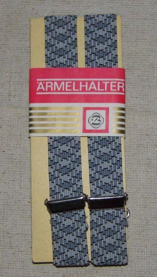 Ddr Hemdhalter Grau Verpackt Mit Etikett Neuwertig 35 X 1,  8 Cm Bild