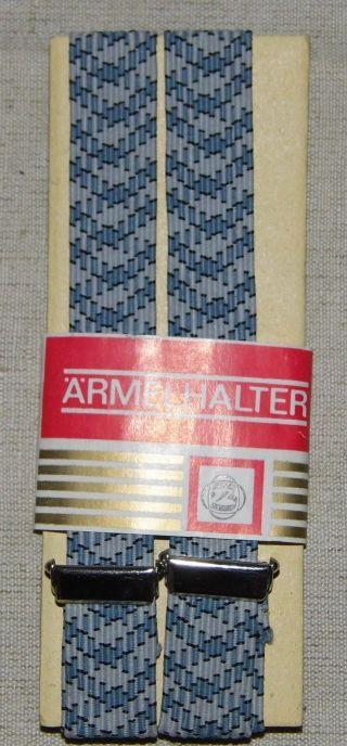 Ddr Hemdhalter Blaugrau Verpackt Neuwertig 35 X 1,  8 Cm Bild