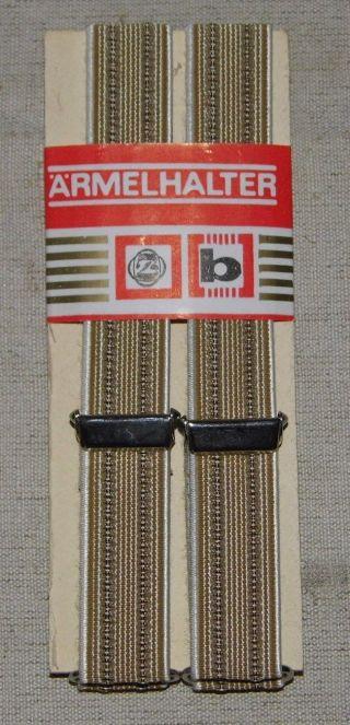 Ddr Hemdhalter Braun Verpackt Mit Etikett Neuwertig 35 X 1,  8 Cm Bild