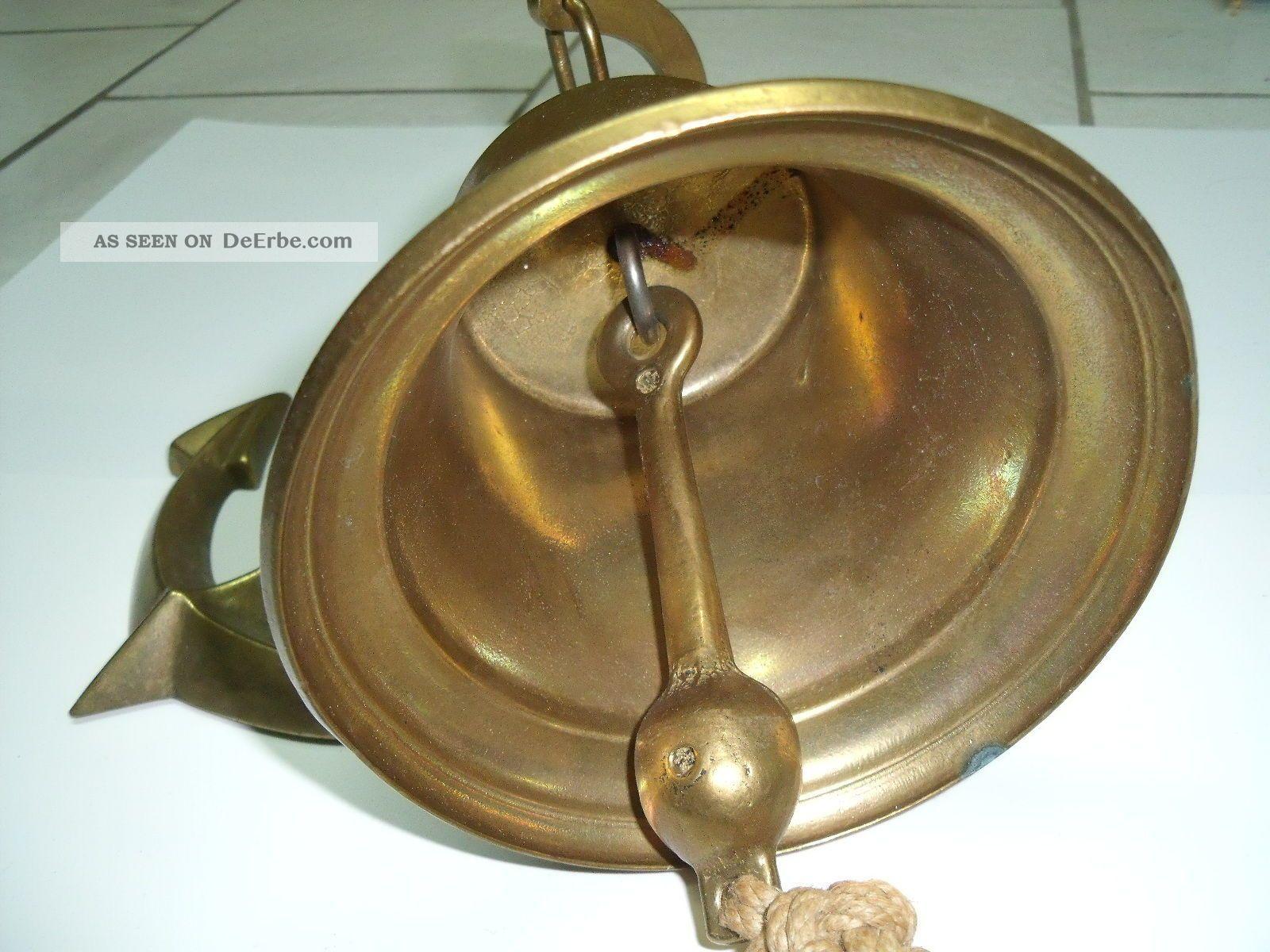 messing wandglocke schiffsglocke ms bremen 1911 glocke. Black Bedroom Furniture Sets. Home Design Ideas