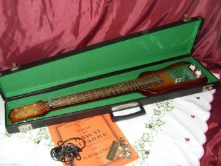 HÖfner Marken Hawai Gitarre Mit Koffer Und ZubehÖr Bild