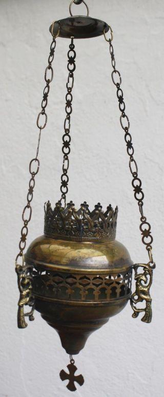 Weihrauchschwenker,  Ewiges Licht,  Messing,  Weihrauchgefäß,  Weihrauch,  Sakral,  Kreuz Bild