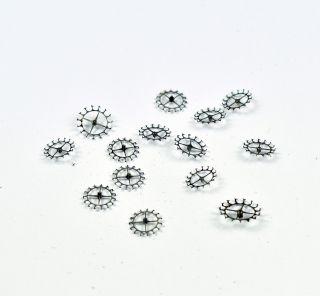 Konvolut Zylinderräder F.  Taschenuhr Uhrwerk Alt Werk D 29 - 39 Mm Pocket Watch Bild