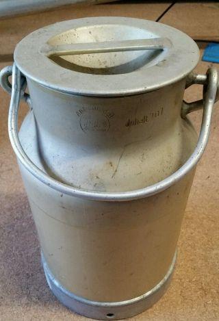 Milchkanne 10 Liter Ritter Aluminium Bild