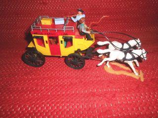 Timpo Toys Wells Fargo Kutsche Bastler Bild