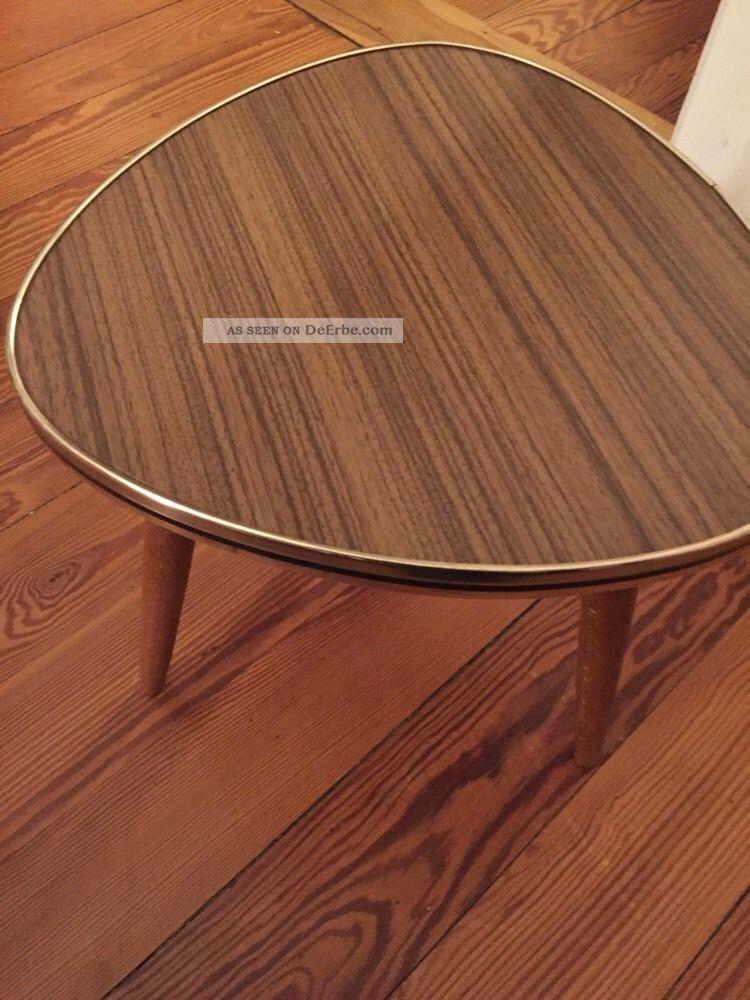 Nieren Tisch Blumentisch Nierentisch Resopal Midcentury 50er 60er