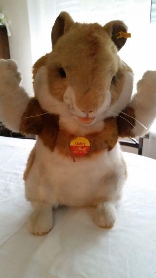 Steiff Goldy Hamster 2150/50 50 Cm 2150 215050 1985 - 1986 Bild