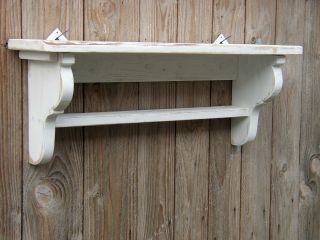 Shabby - Chic Regal - Wandregal - Konsole - Recycling Holz - Rustikal - Landhausst Bild