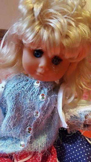 Alte Puppe Ca.  58 Cm Bild