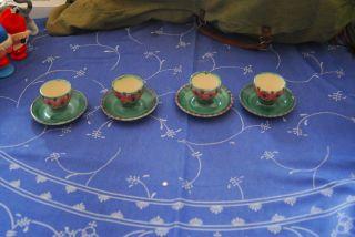 4 Eierbecher Allgäuer Keramik Bild