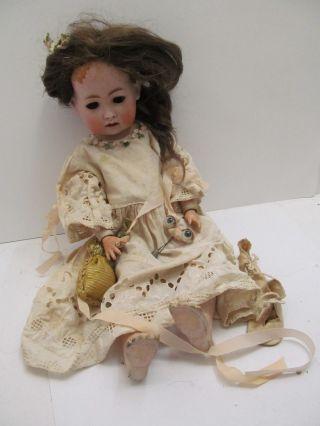 Mes - 49684 Alte Koenig&wernicke Porzellankopf Puppe H:ca.  41cm Bild