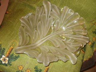 Riesige Schwere Glas Schale Obst Schale Art Déco Rarität Wunderschön Kristall Bild