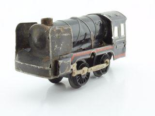 Blechspielzeug Tin Toy Kaufhausbahn Dampflok Uhrwerkantrieb Bild