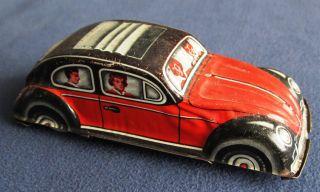 1 Blechzeugspielauto (vw Käfer) Bild
