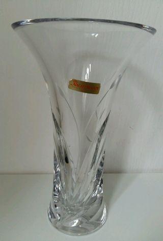 Kristallvase Bleikristall Schwere Nachtmann Fleurie / FrÜhling Vase 26 Cm Bild