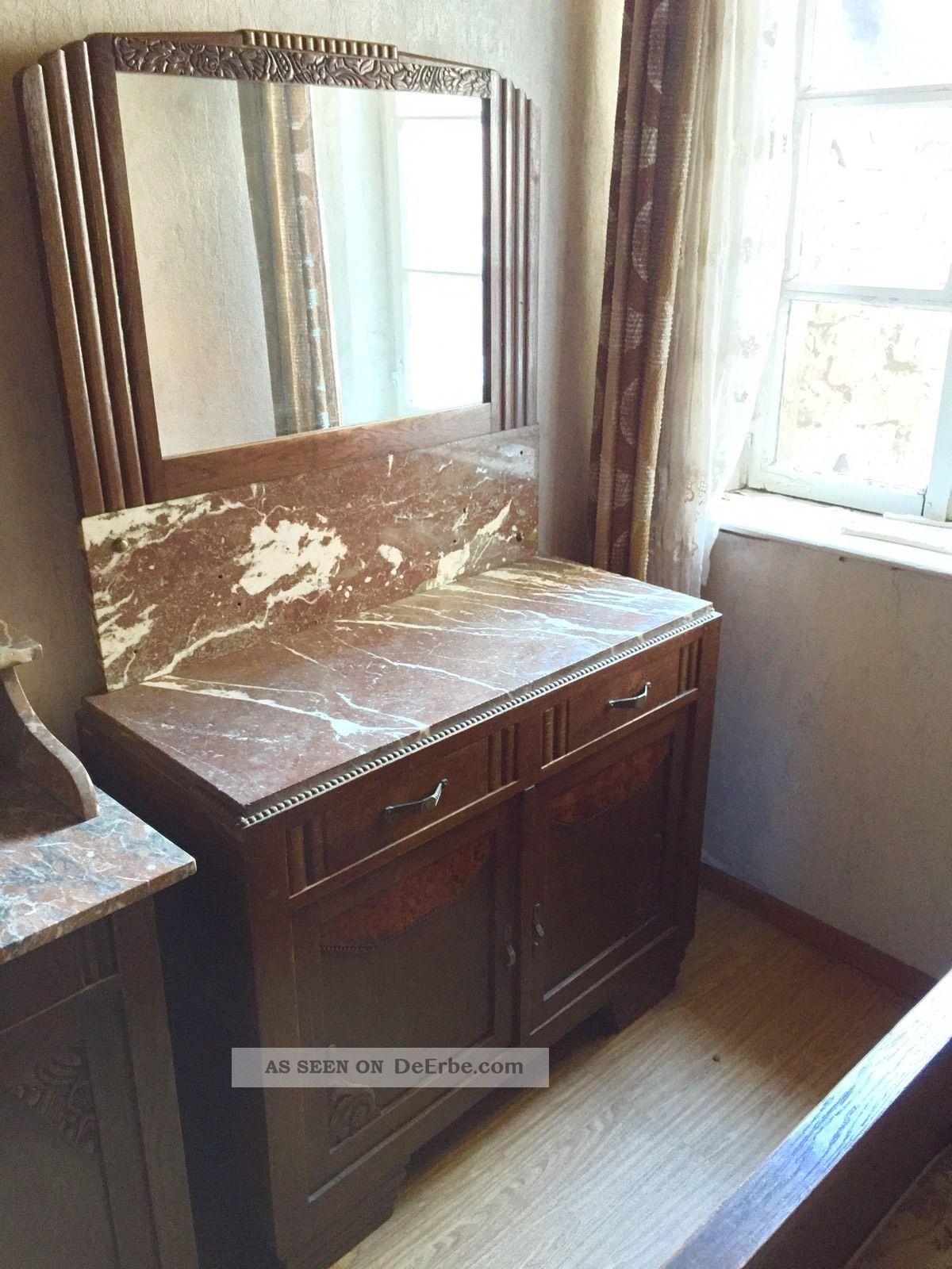 antike kommode mit spiegel. Black Bedroom Furniture Sets. Home Design Ideas