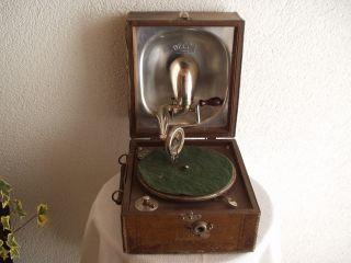 koffergrammophon mit elektro