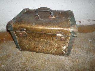 Alter Koffer Reisekoffer Hartschalenkoffer Maschinenkoffer Gerätekoffer W17 Bild
