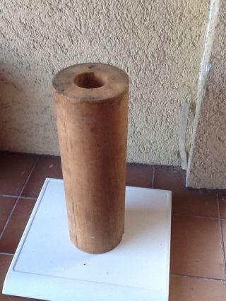 Holz -,  Walze,  Rolle Groß Bild