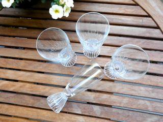 4schott Zwiesel Sektglas Kristall Fußbecher Löffelhardt Lahn Naab Linien Schliff Bild