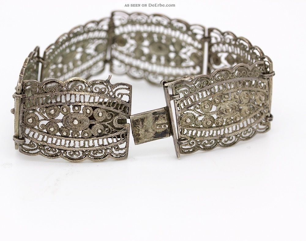 Silber armband filigran