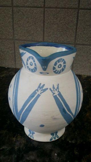 Pablo Picasso Madoura Ceramic Owl Pitcher Bild