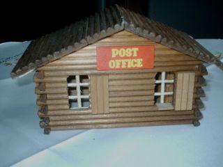 Westernstadt Holzhaus Post Office Wohl 60 Iger 70 Iger Jahre Westernhaus Bild