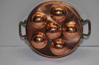 Kupfer Schneckenpfanne Bild