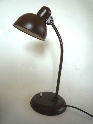 Kaiser - Idell - Art Deco,  6556 Bauhaus,  Tischlampe,  20/30er J.  Christian Dell Bild