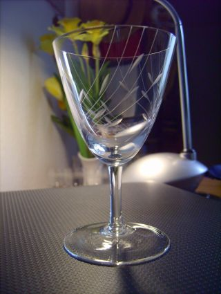 Zwiesel Alte Gläser Likörschalen Likörgläser Kristall - - 5 Stück Bild