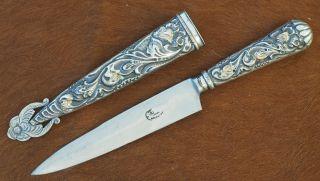 Wunderschönes Gaucho Messer Tandil Argentien Bild