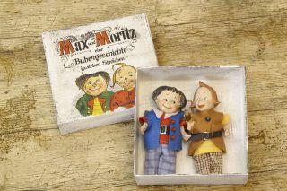 Max & Moritz Porzellan Puppen Reproduktion In Schachtel Dolls Bild