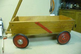 6752.  Alter Puppen Bollerwagen Handwagen Bild