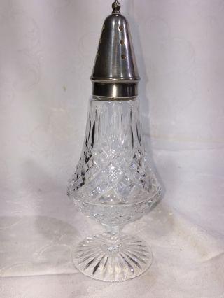 Altes Kristall Zuckergefäß/zucker Streuer Um 1900 Bild